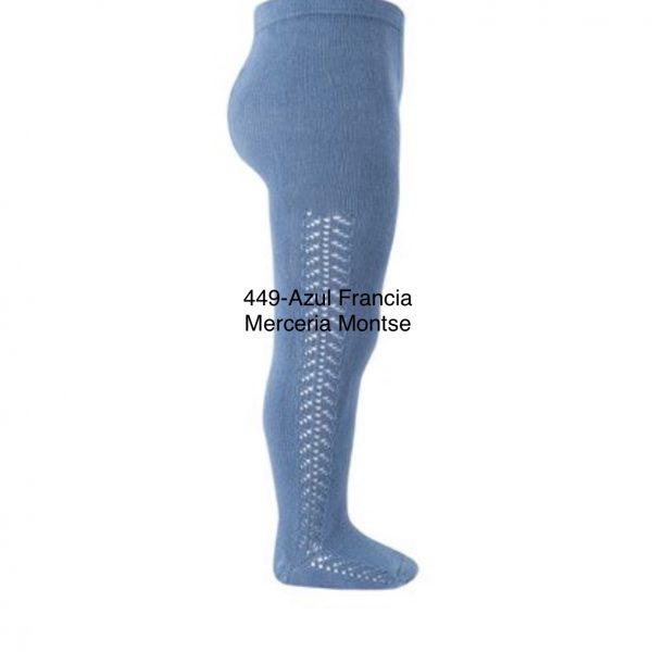 Leotardo condor calado lateral ( TALLA 00 ). Ref; 2591/1