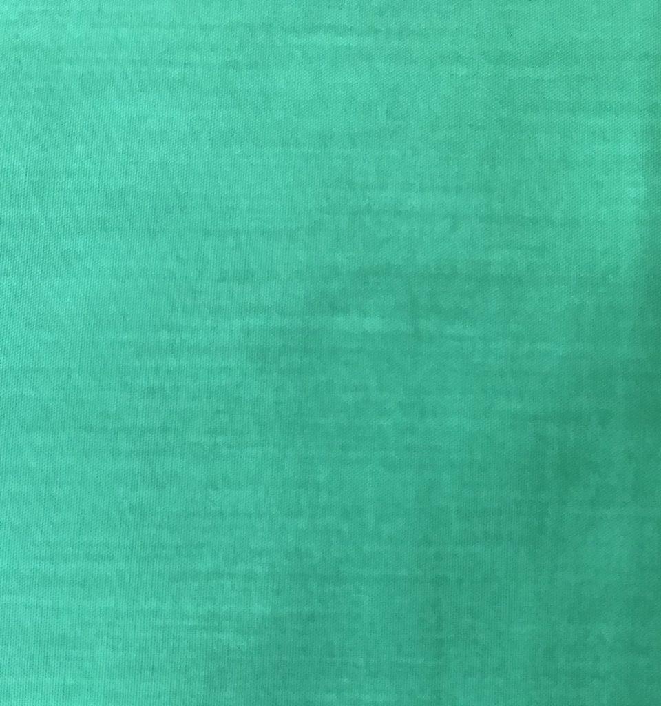 Tela popelina verde.