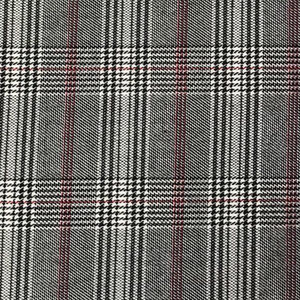 tela cuadros escoceses gris
