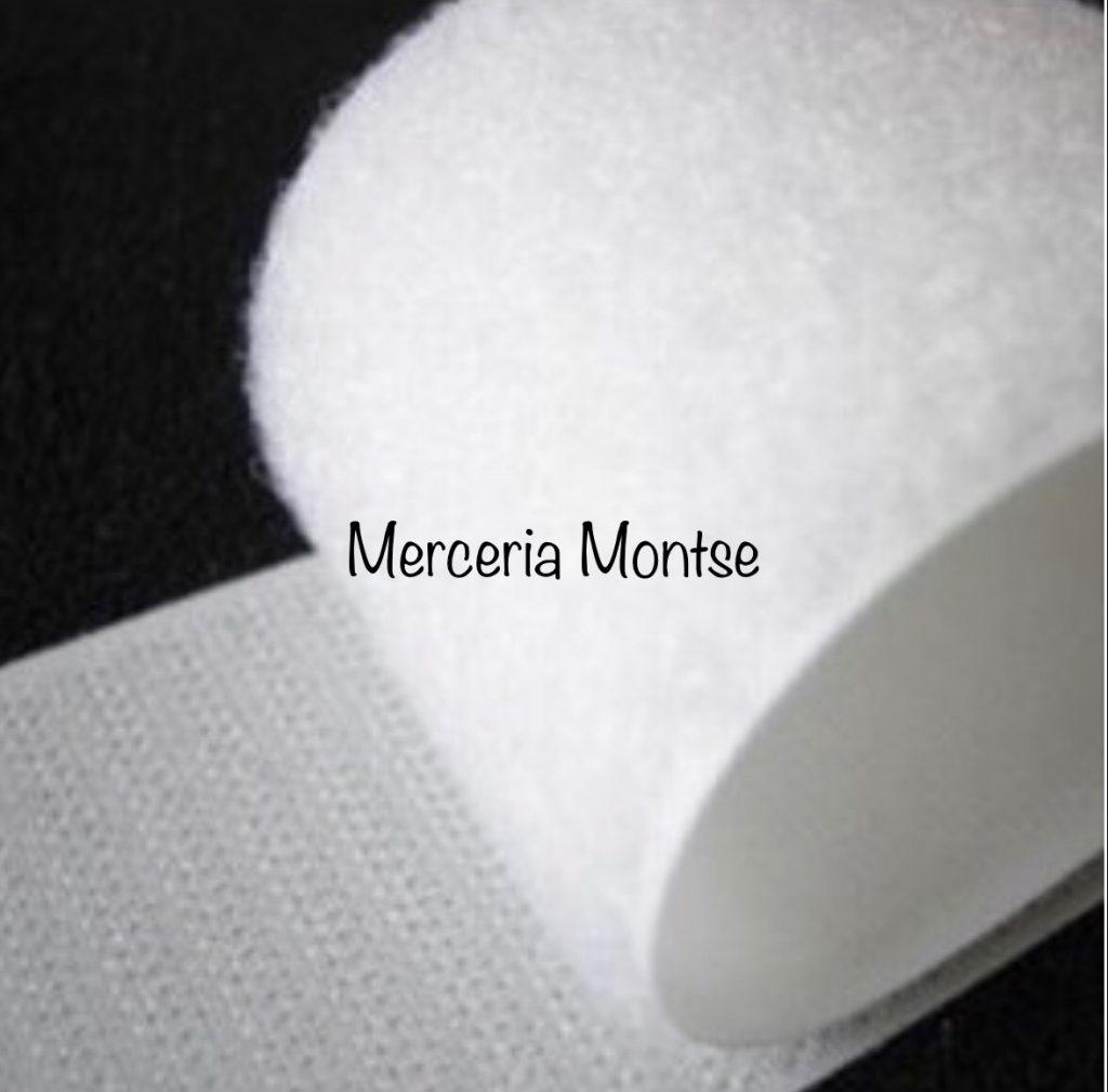 Velcro de coser blanco de 50mm.