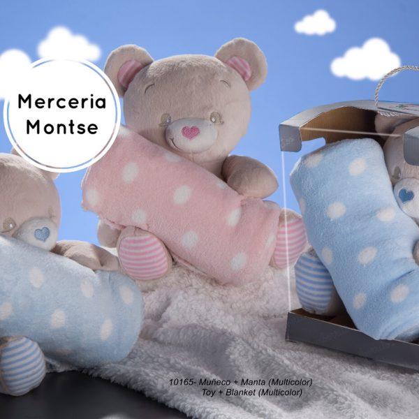 Muñeco más manta más bordado Merceria montse