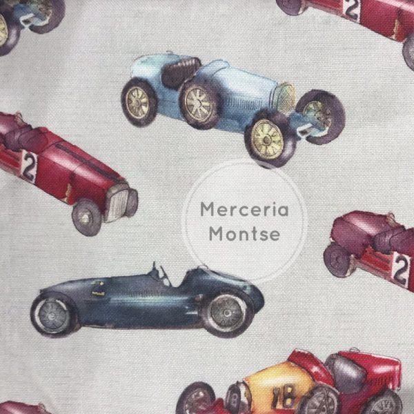 Tela coches Merceria montse
